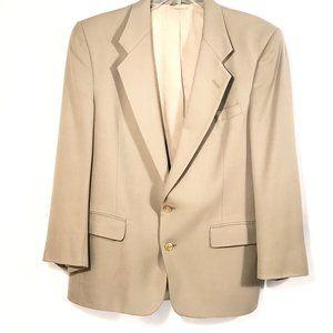 Christian Dior Tan Sport Coat Jacket 42S